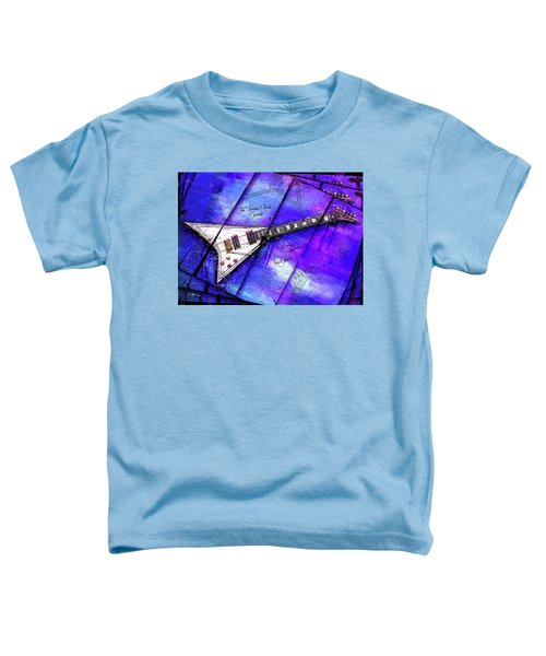 The Concorde On Blue Toddler T-Shirt by Gary Bodnar