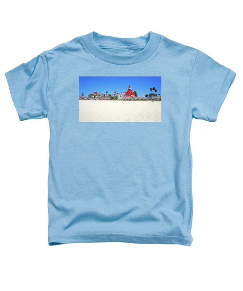The Del Coronado Hotel San Diego California Toddler T-Shirt