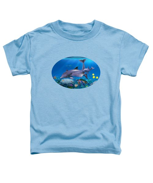 The Dolphin Family Toddler T-Shirt