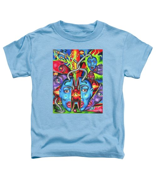 The Esoteric Force Of Molecular Mentality Toddler T-Shirt
