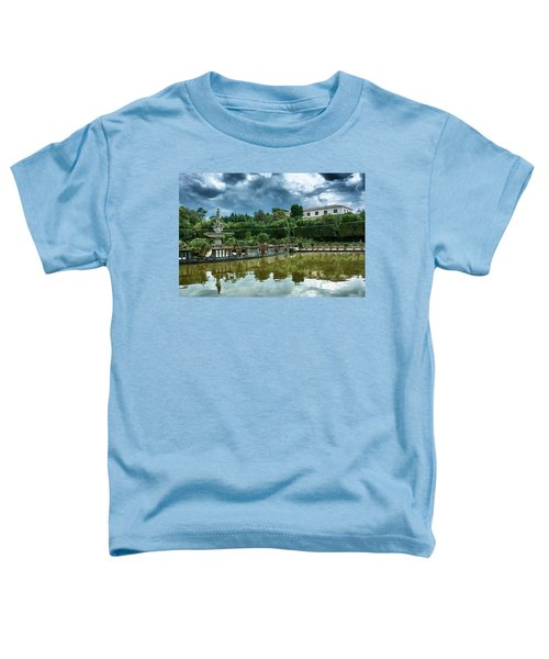 The Fountain Of The Ocean At The Boboli Gardens Toddler T-Shirt