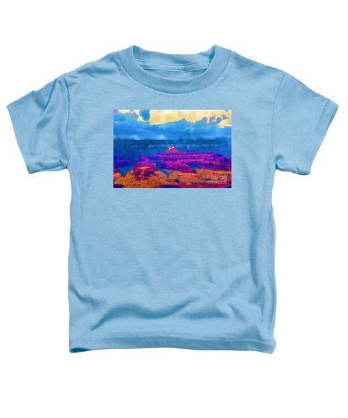The Grand Canyon Alive In Color Toddler T-Shirt
