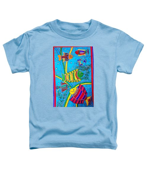 The Happy Fishes Toddler T-Shirt