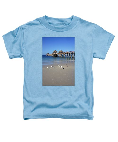 The Historic Naples Pier Toddler T-Shirt