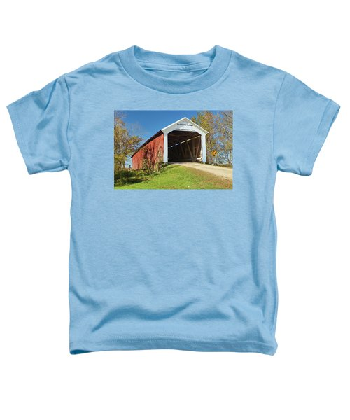 The Mcallister Covered Bridge Toddler T-Shirt
