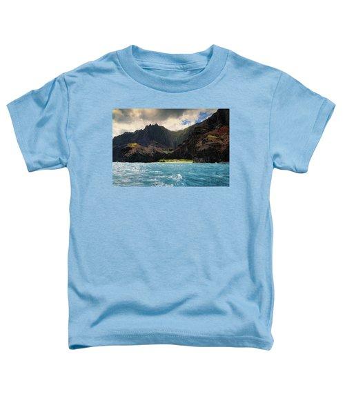 The Napali Coast Toddler T-Shirt