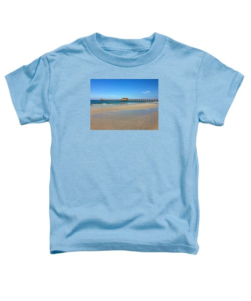 The Naples Pier At Low Tide Toddler T-Shirt
