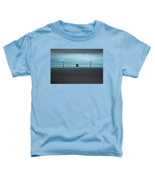 The San Francisco - Oakland Bay Bridge Toddler T-Shirt
