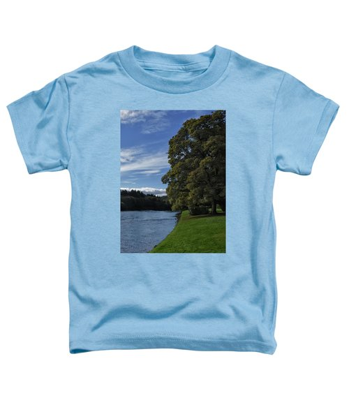 The Silvery Tay By Dunkeld Toddler T-Shirt