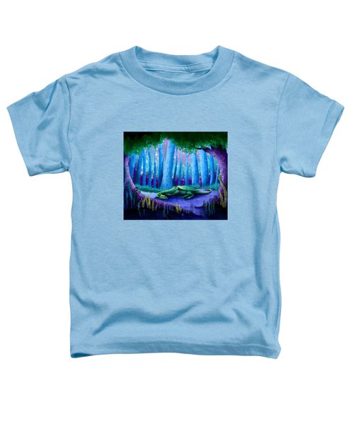 The Sleeping Dragon Toddler T-Shirt
