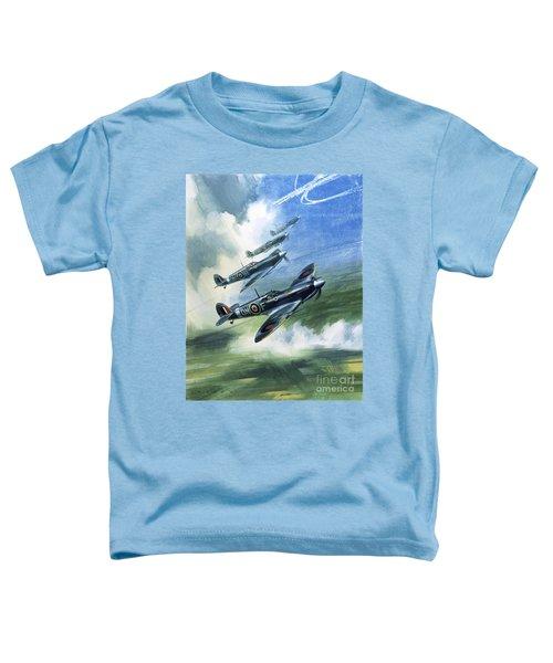 The Supermarine Spitfire Mark Ix Toddler T-Shirt