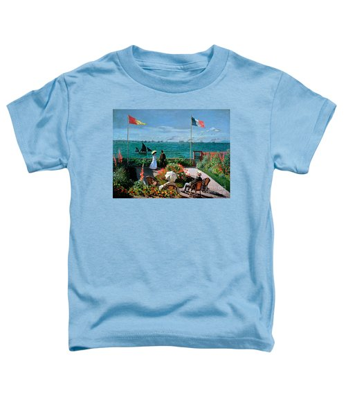 The Terrace At Sainte Adresse Toddler T-Shirt