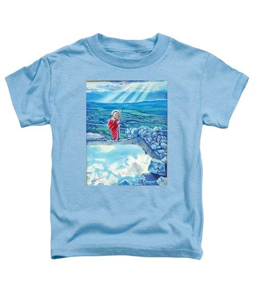 The Transcending Spartan Soldier Toddler T-Shirt