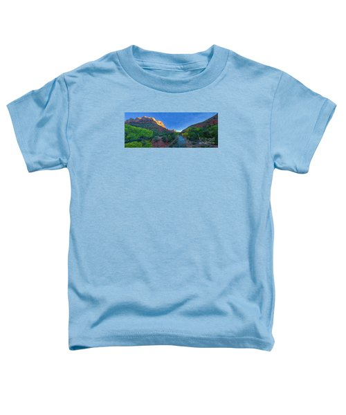 The Watchman Zion National Park Toddler T-Shirt