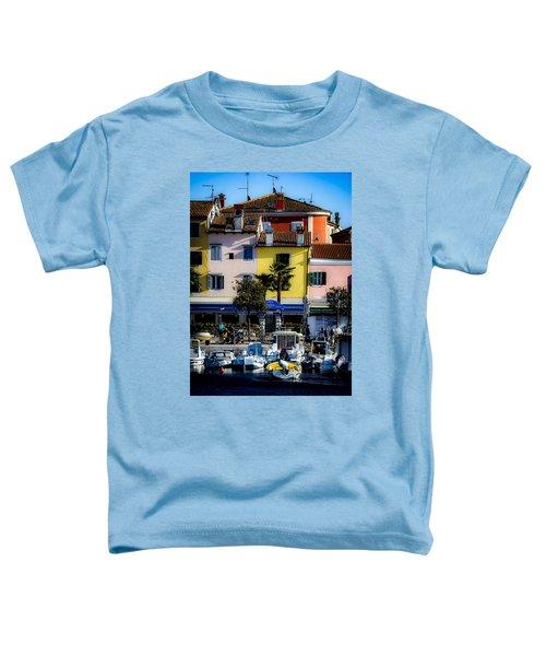 The Watercolors In Split Toddler T-Shirt