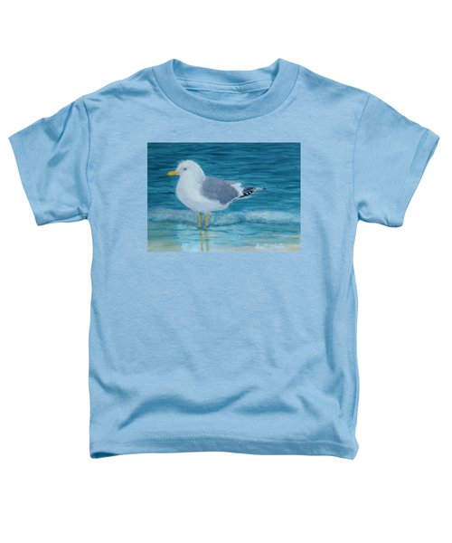 The Water's Cold Toddler T-Shirt