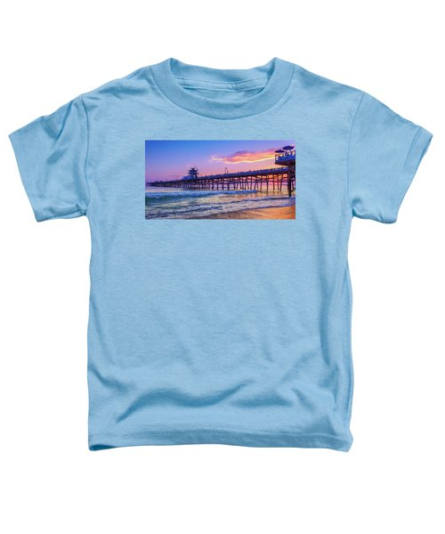There Will Be Another One - San Clemente Pier Sunset Toddler T-Shirt
