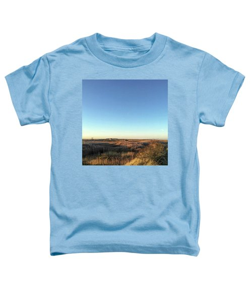Thornham Marsh Lit By The Setting Sun Toddler T-Shirt