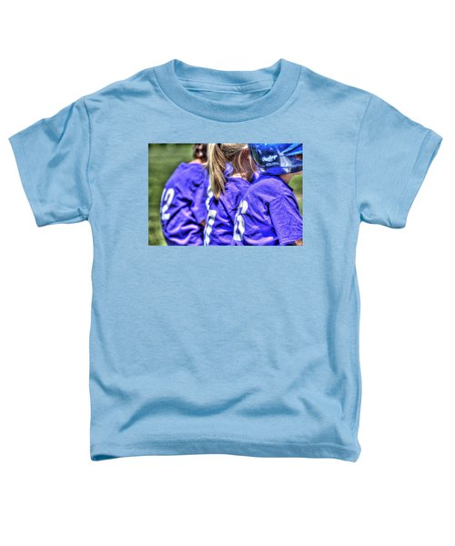 Three On The Bench 1621 Toddler T-Shirt