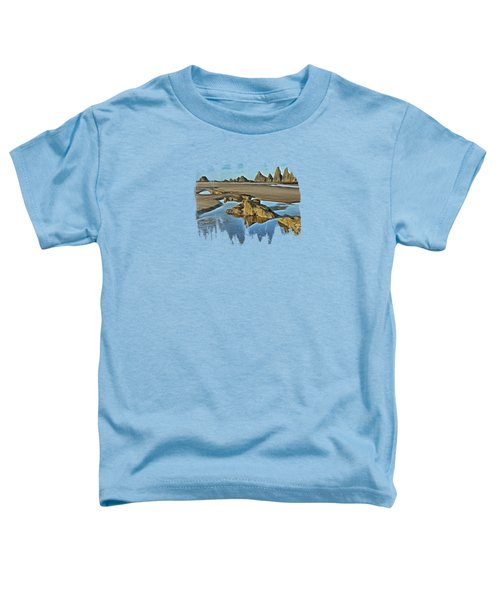 Tides Out At Seal Rock Beach Toddler T-Shirt