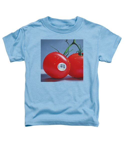 Tomatoes With Sticker Toddler T-Shirt
