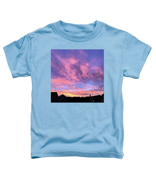 Tonight's Sunset Over Tesco :) #view Toddler T-Shirt
