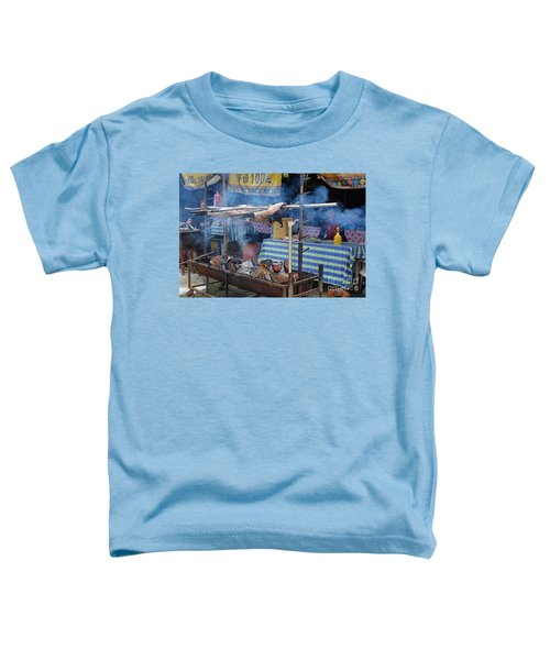 Traditional Market In Taiwan Native Village Toddler T-Shirt