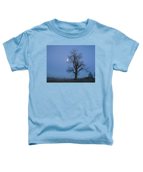 Tree And Moon Toddler T-Shirt