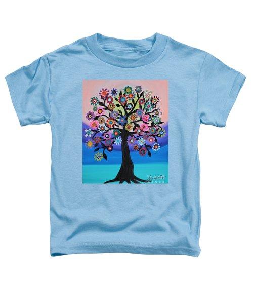 Blooming Tree Of Life Toddler T-Shirt