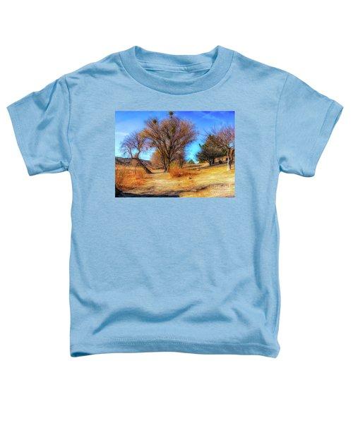 Trees Along Elizabeth Lake Toddler T-Shirt