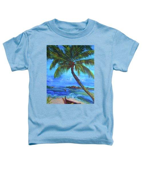 Tropical Vacation Toddler T-Shirt