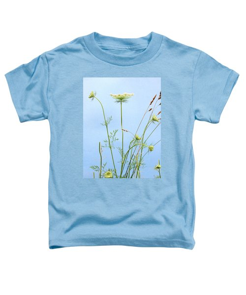 Tuft Of Queen Anne's Lace Toddler T-Shirt