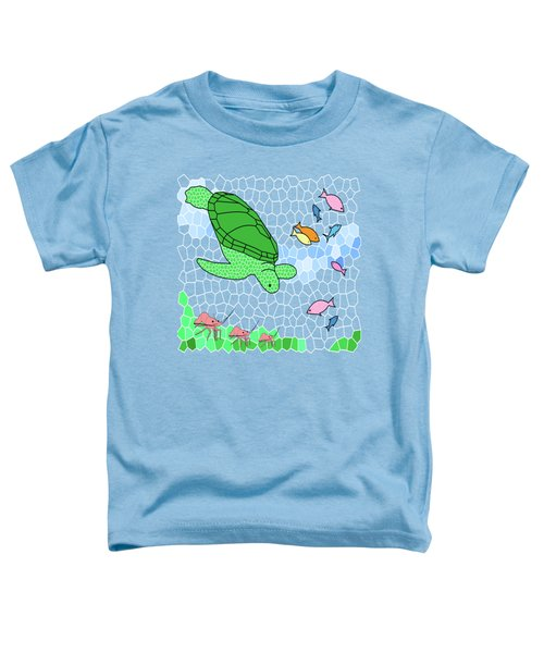 Turtle And Friends Toddler T-Shirt