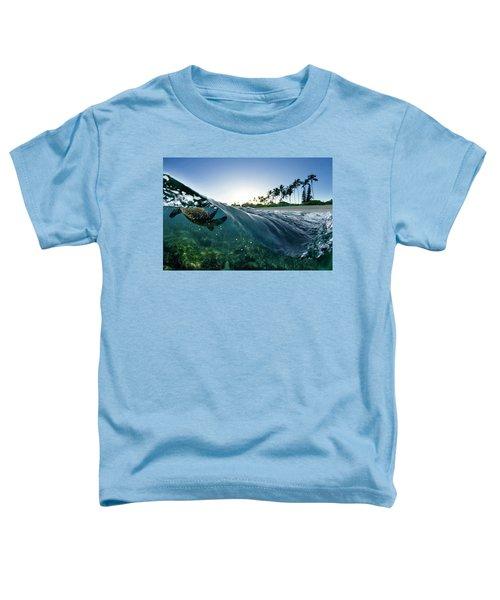 Turtle Split Toddler T-Shirt