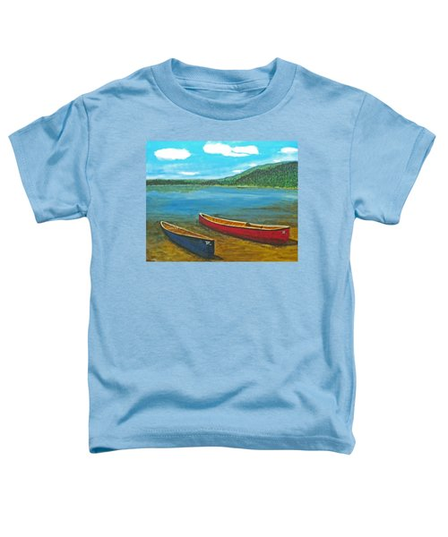 Two Canoes Toddler T-Shirt