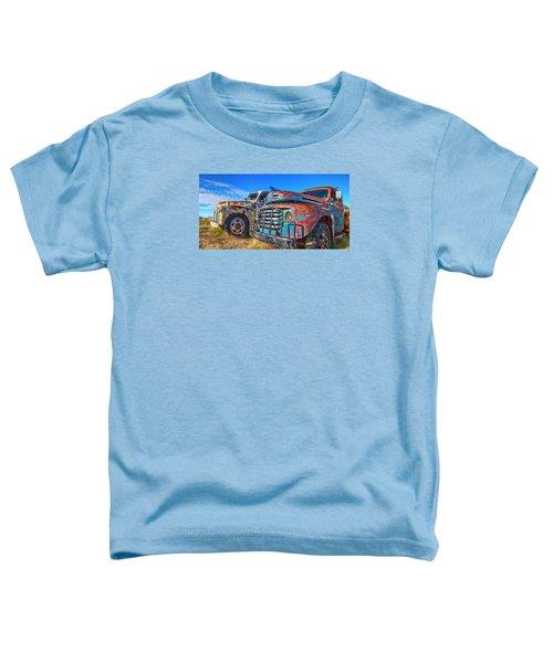 Two Trucks Toddler T-Shirt