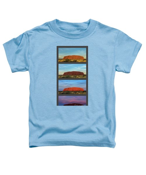 Uluru Sunset Toddler T-Shirt