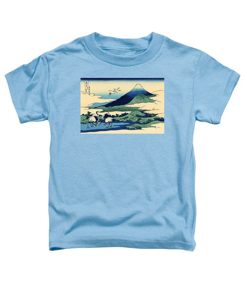 Umegawa In Sagami Province, One Of Thirty Six Views Of Mount Fuji Toddler T-Shirt by Hokusai