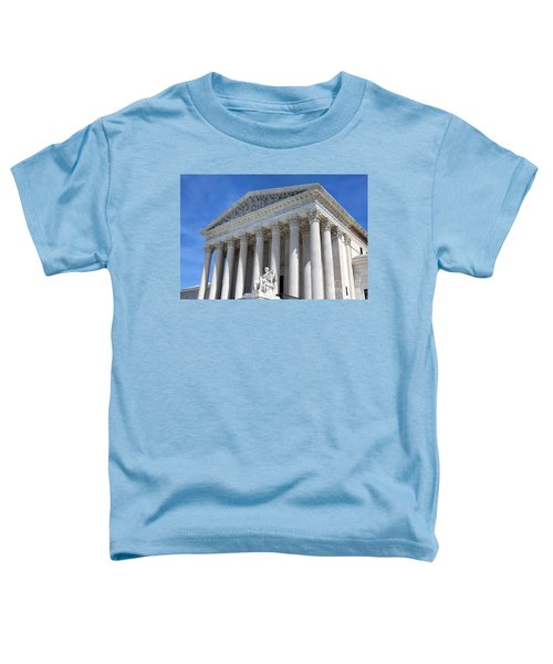 United States Supreme Court Building Toddler T-Shirt