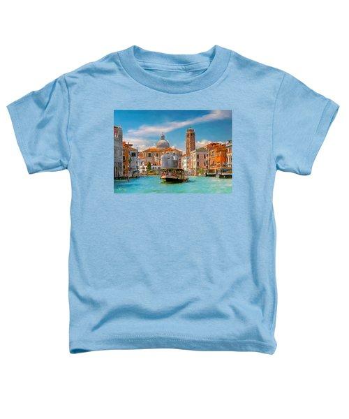 Venezia. Fermata San Marcuola Toddler T-Shirt