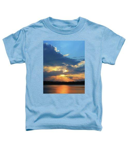Vibrant Sunset Toddler T-Shirt