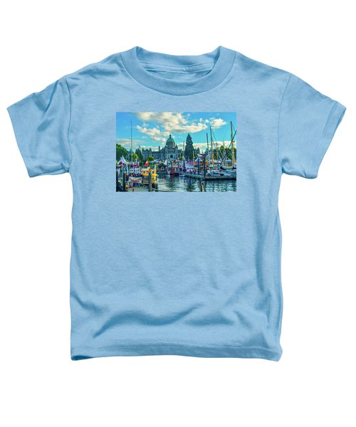 Victoria Harbor Boat Festival Toddler T-Shirt
