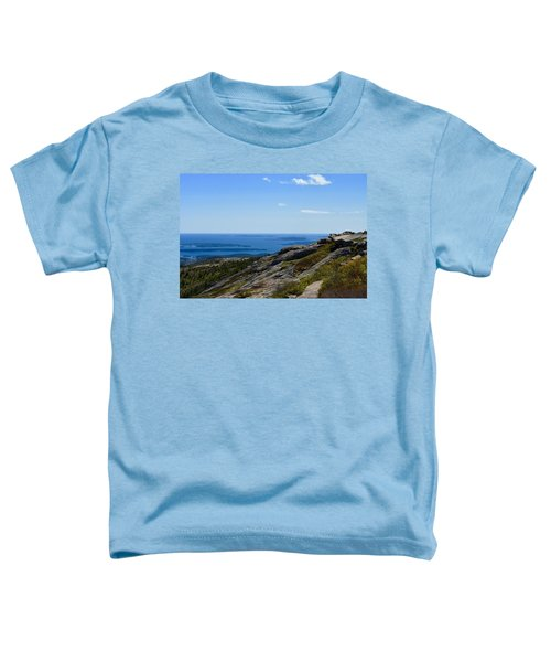 View From Cadillac Mountain Toddler T-Shirt