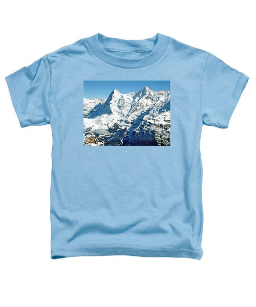 View Of The Eiger From The Piz Gloria Toddler T-Shirt