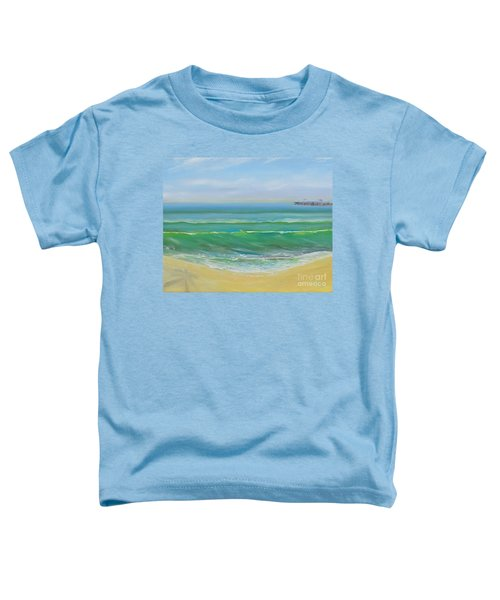 View To The Pier Toddler T-Shirt