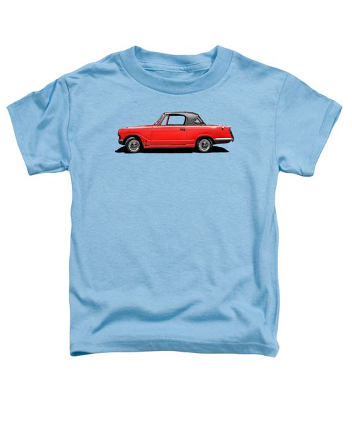 Vintage Italian Automobile Red Tee Toddler T-Shirt