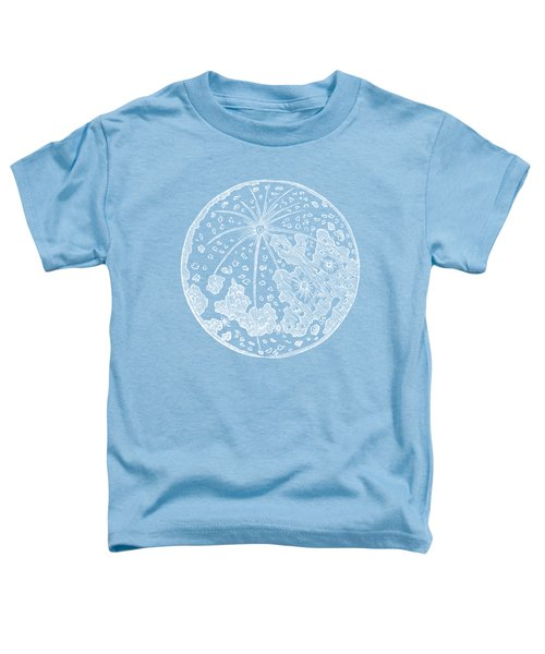 Vintage Planet Tee Blue Toddler T-Shirt