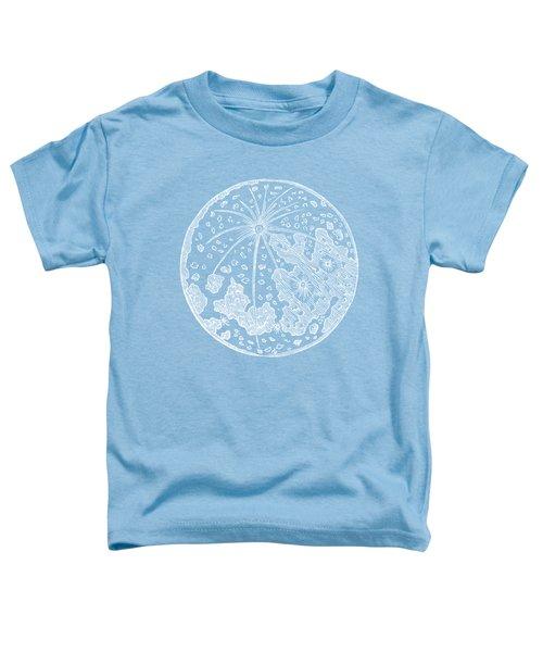 Vintage Planet Tee Blue Toddler T-Shirt