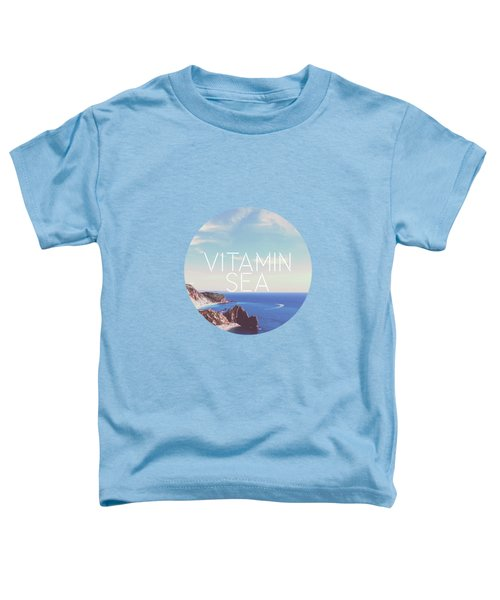 Vitamin Sea Toddler T-Shirt by Alexandre Ibanez