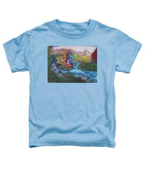 Volcano Delta Toddler T-Shirt
